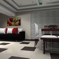 espacios soñados : Comedores de estilo  por Francis estilo, Clásico