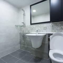 신정동 청구아파트 에클레틱 욕실 by DECORIAN 에클레틱 (Eclectic)