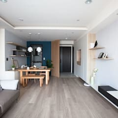 Floors by 極簡室內設計 Simple Design Studio