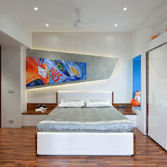 KIDS BEDROOM:  Boys Bedroom by Ar. Milind Pai