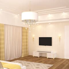 Family room:  Media room by NVT Quality Build solution
