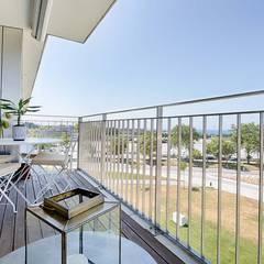 Terrazas de estilo  por SHI Studio, Sheila Moura Azevedo Interior Design