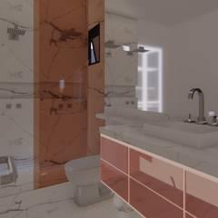 Casa CT: Banheiros  por TRAD