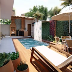 eclectic Pool by TRAD