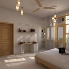 Gupta Residence, Delhi:  Bathroom by Studio Square