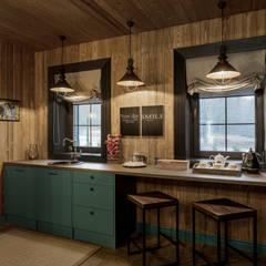Бунгало Брутал: Кухни в . Автор –  Евгения Млынчик
