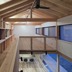 みなみきつきの家: 伊藤憲吾建築設計事務所が手掛けた子供部屋です。