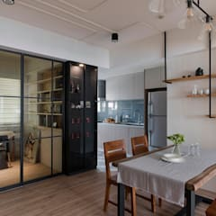 scandinavian Dining room by 辰林設計