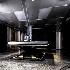 Sales Office:  Study/office by Artta Concept Studio