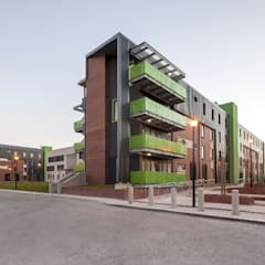 NMMU Student Housing:  Schools by The Matrix Urban Designers and Architects