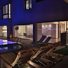 Nassars Private Villa:  Garden Pool by dal design office