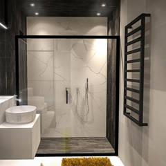 FLAT 4: styl , w kategorii Łazienka zaprojektowany przez Luxon Modern Design Łukasz Szadujko