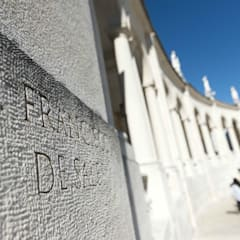 Lettering Santuário de Fátima: Paredes  por Gárgula Gótica