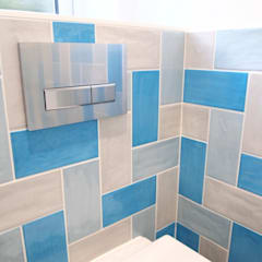 Funky Cloackroom:  Bathroom by DeVal Bathrooms