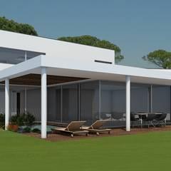 Rumah pasif oleh Evomod - Construções Modulares