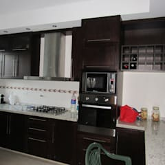 Kitchen units by BVS+GN ARQUITECTURA