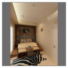 Modern minimalist bedroom: Kamar Tidur oleh Lenny indriani design, Minimalis Kayu Buatan Transparent