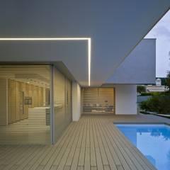 Vivienda ZüV: Terrazas de estilo  de Tomás Amat Estudio de Arquitectura