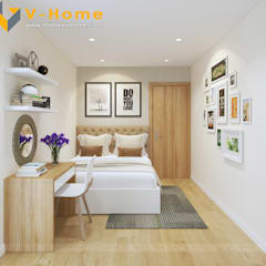 Schlafzimmer von Công ty CP Kiến trúc V-Home