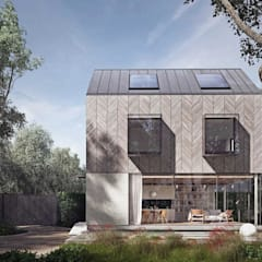 Wooden houses by Architecture for London,