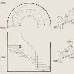 Stairs by Morelli & Ruggeri Architetti
