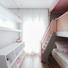 Girls Bedroom by Thiago Mondini Arquitetura, Eclectic