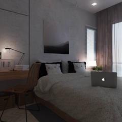 غرفة نوم تنفيذ Unidentified studio