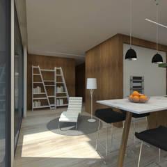 Cozinha - Casa no Minho, Gerês - SHI Studio Interior Design: Cozinhas pequenas  por SHI Studio, Sheila Moura Azevedo Interior Design