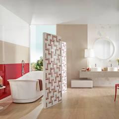 Acqua: Casas de banho  por Love Tiles