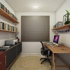 Study/office by Bernardo Horta Arquiteto