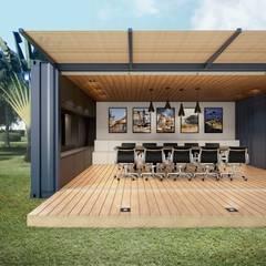 Container Votorantim: Espaços comerciais  por Bernardo Horta Arquiteto