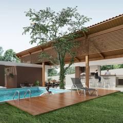 Anexo Residência Pampulha: Casas do campo e fazendas  por Bernardo Horta Arquiteto