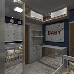 Baby room by Arquiteto Lucas Lincoln ,