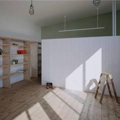 子供部屋: 前田工務店が手掛けた壁です。