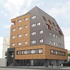 투시도: (주)건축사사무소 예인그룹의  계단