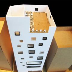 모형: (주)건축사사무소 예인그룹의  바닥