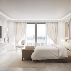 Bedroom 2:  ห้องนอน by Charrette Studio Co., Ltd.