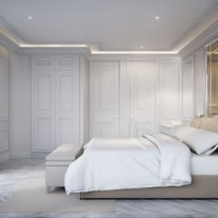 Bedroom 3:  ห้องนอน by Charrette Studio Co., Ltd.
