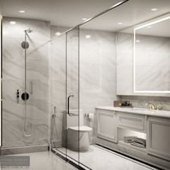 Master Bathroom:  ห้องน้ำ by Charrette Studio Co., Ltd.
