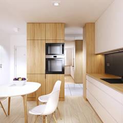 Konwaliowa   Turka: styl , w kategorii Kuchnia na wymiar zaprojektowany przez H+ Architektura