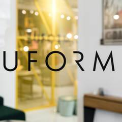 Projekt wnętrz salonu wyposażenia wnętrz EUFORMA,  Gdańsk Al. Grunwaldzka 481: styl , w kategorii Powierzchnie handlowe zaprojektowany przez Marta Koniczuk Pracownia Architektury Wnętrz