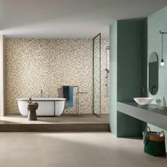 Splash: Casas de banho  por Love Tiles,Industrial