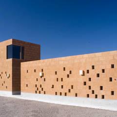 Bodega / Perreras: Paredes de estilo  por Eduardo Gutiérrez Taller de Arquitectura