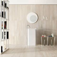 Natural: Casas de banho  por Margres