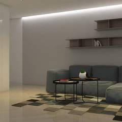 La Llovizna : modern Media room by Spazio Design