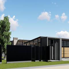 : Casas de estilo industrial por ARBOL Arquitectos