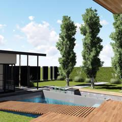 : Terrazas de estilo  por ARBOL Arquitectos