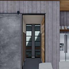 : Pasillos y recibidores de estilo  por ARBOL Arquitectos ,Industrial