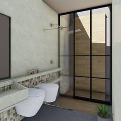 : Baños de estilo  por ARBOL Arquitectos ,Industrial