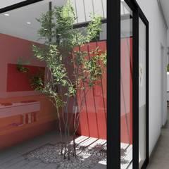 Vivienda en Duplex: Jardines de invierno de estilo  por ARBOL Arquitectos ,Moderno